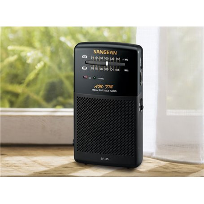SR-35 SANGEAN AM/FM RADIO ANALOGICA