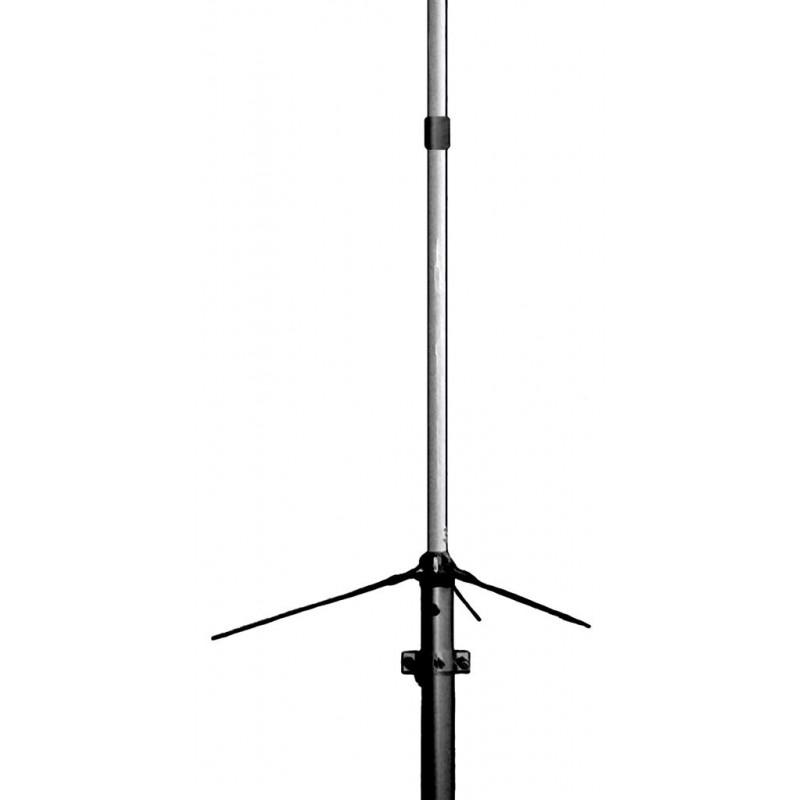 DX-F23 - Antena base 144/148 MHz., en fibra de vidrio. 4.6 m.