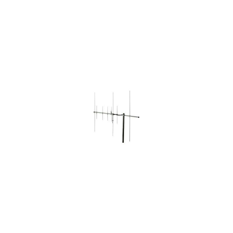 HS-FOX727 - Antena Yagi 144-430 MHz. 3+5 elementos.
