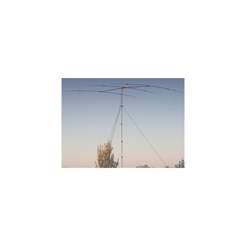 YP-3 - Antena yagi portable de 6 bandas: 6-10-12-15-17-20 m.