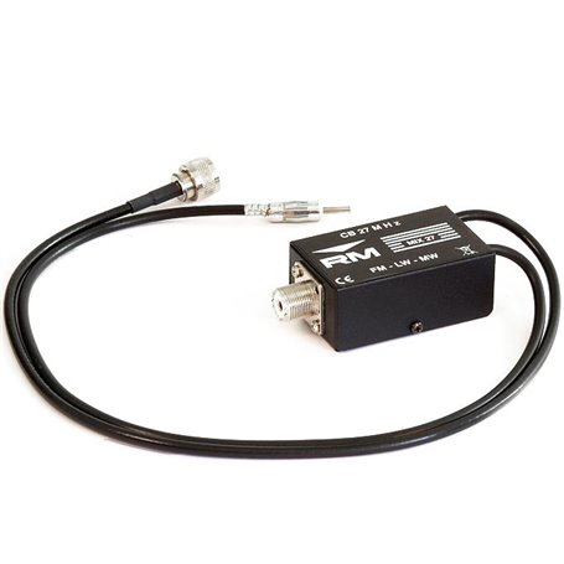 MIX-27 - Duplexor CB / Autorradio.