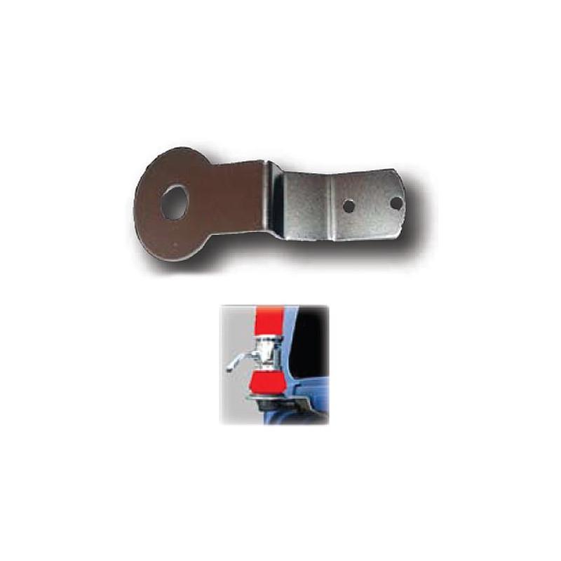 M-7 - Soporte INOX compatible con MAN TGA, diseño corto