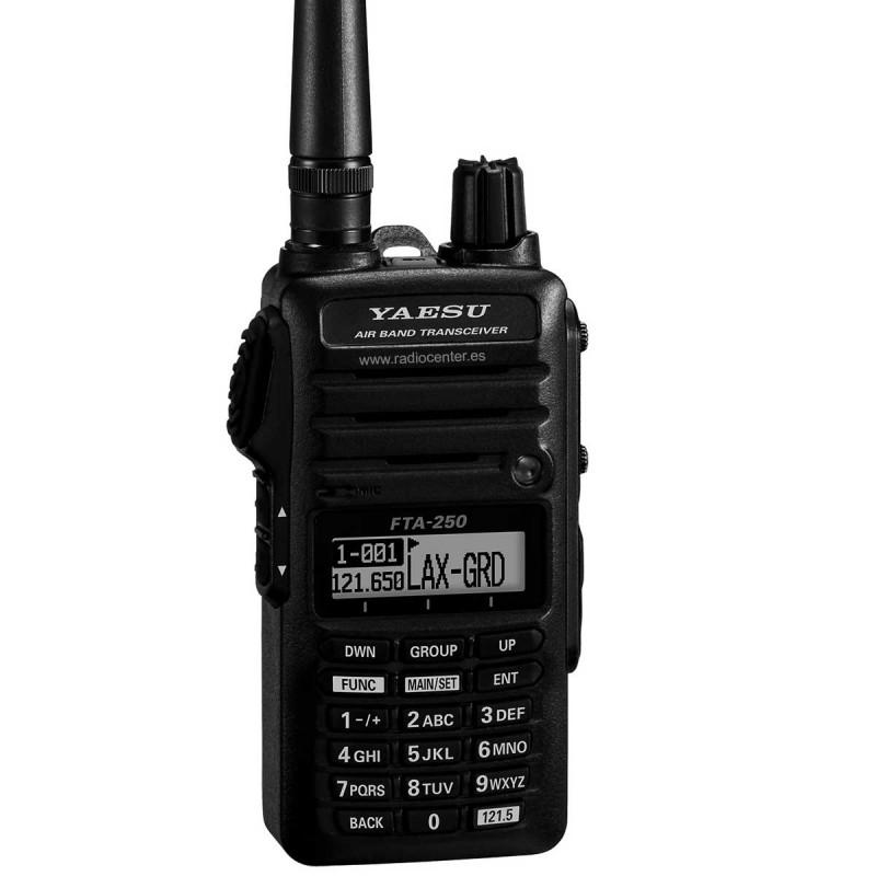 FTA-250L YAESU RADIO AERONÁUTICA