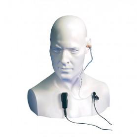 EA15/DX - Micro-auricular tipo tubo acústico para equipos ENTEL Serie DX.