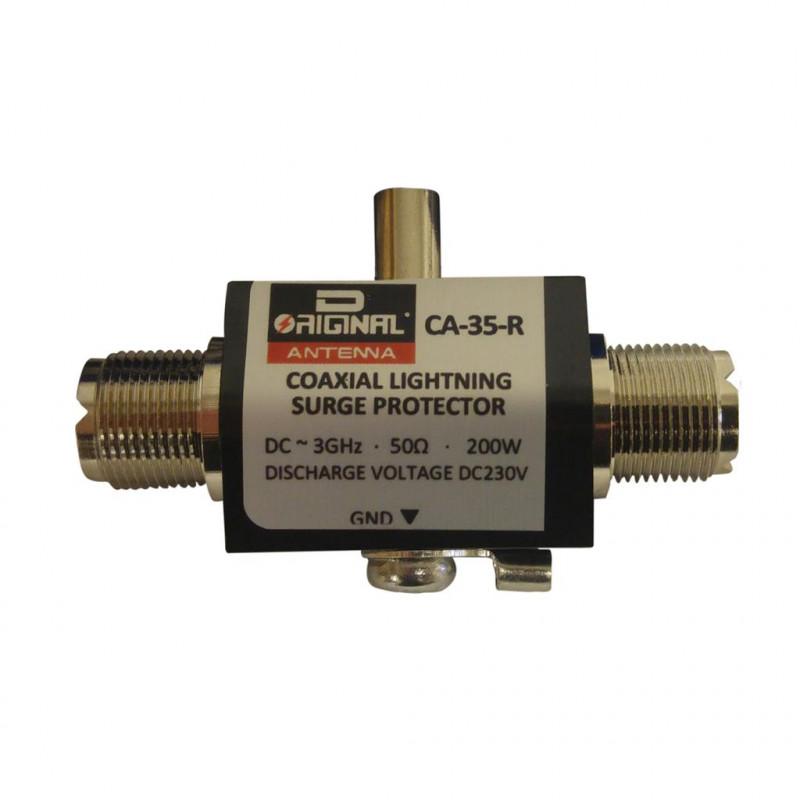 CA-35-R - Protector coaxial. Conector PL.
