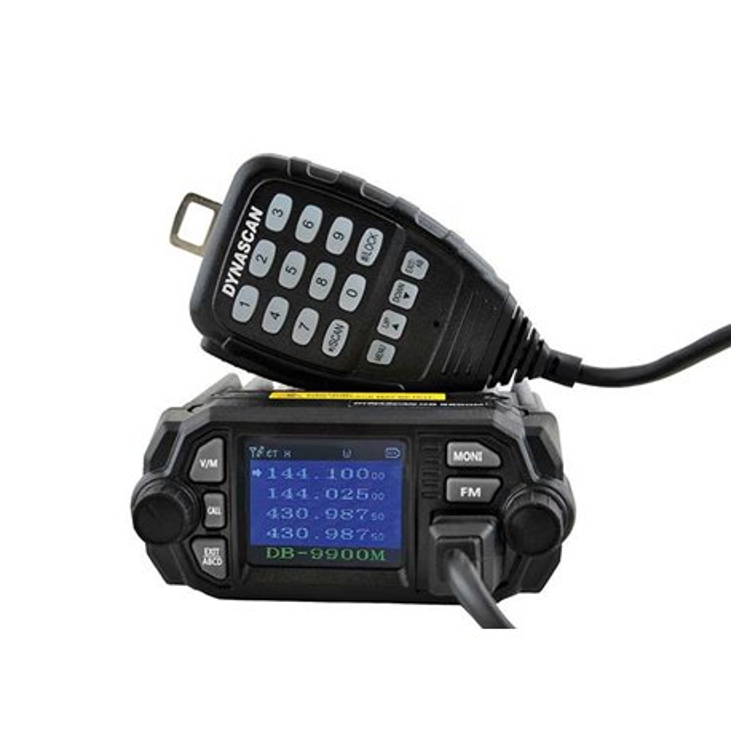 DB-9900M TRANSCEPTOR MINI DOBLE BANDA VHF 25W UHF 20W