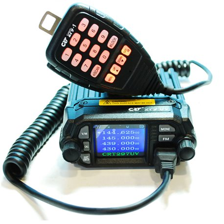 CRT 279 UV EMISORA MINI VHF UHF 25W TOP VENTAS