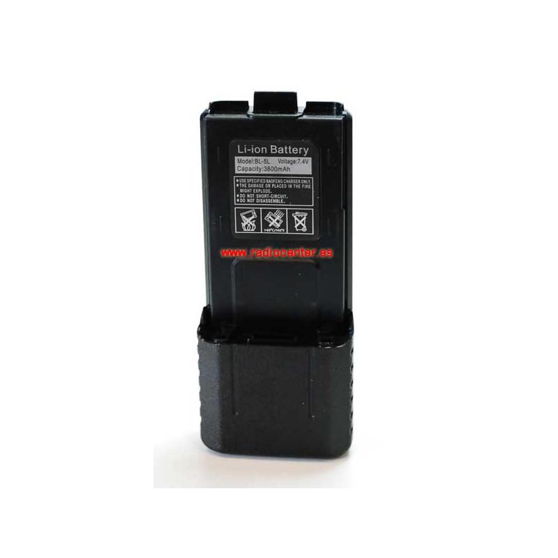 Batería ALTA CAPACIDAD para BAOFENG UV-5R 3800MaH