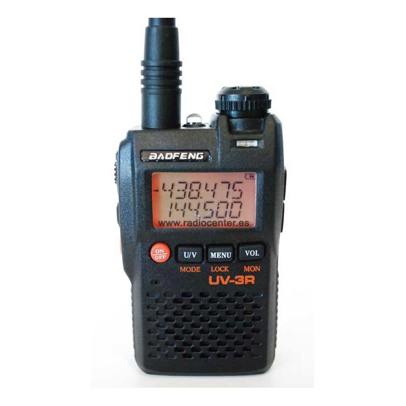 BAOFENG UV-3R VHF-UHF MICRO AURICULAR DE REGALO