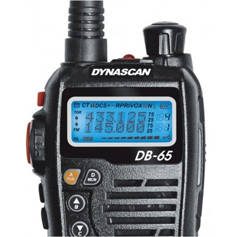 DYNASCAN DB-65 PORTATIL VHF
