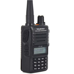 FT-4XE YAESU WALKI TALKI DOBLE BANDA VHF/UHF CON RADIO DE FM COMERCIAL