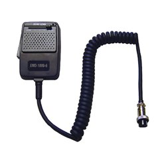 EMD-1000/6 - Micrófono ECO regulable, capsula de micro tipo dinámico y conector 6 Pin