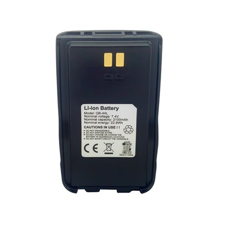 QB-44L - Batería para Anytone AT-D868UV / AT-D878UV 7.4 V., 2100 mAh, Li-Ion.