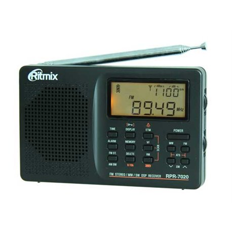 RPR-7020 RITMIX RECEPTOR DE RADIO MULTI-BAND PLL DSP
