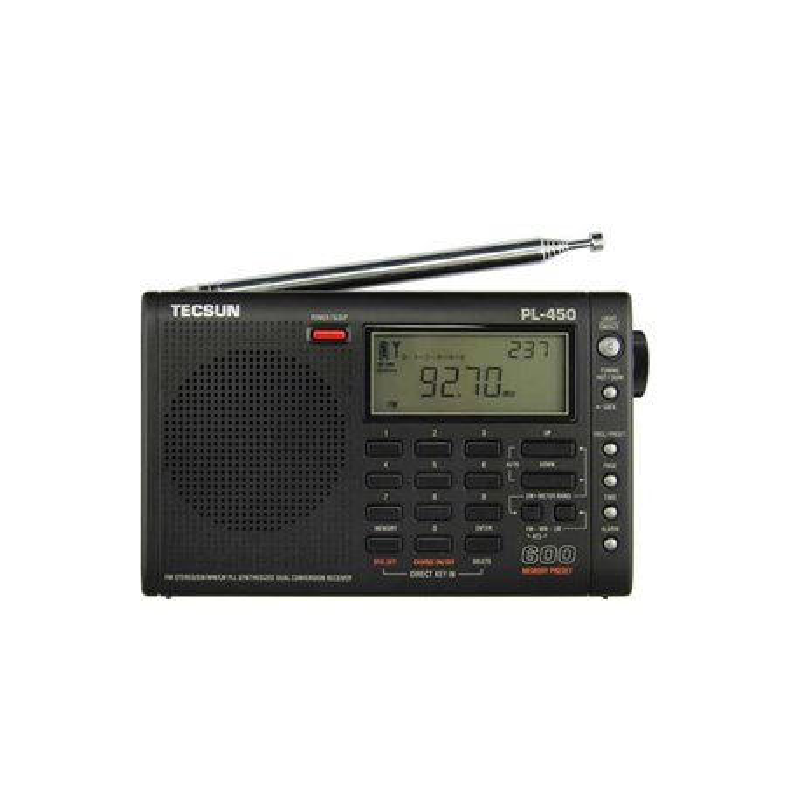 PL-450 TECSUN AM/FM/LW/SW RECEPTOR MULTIBANDA