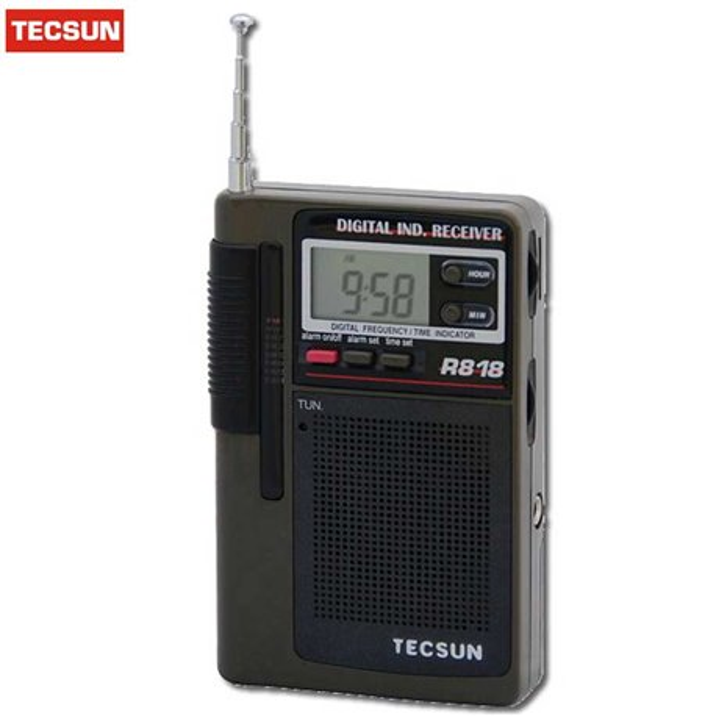 R-818 TECSUN MULTIBANDA HORA RADIOCONTROLADA