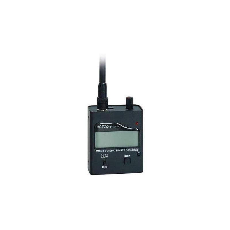 SC-1-PLUS - Frecuencímetro para emisiones digitales de 30 MHz. CON VIBRACIÓN