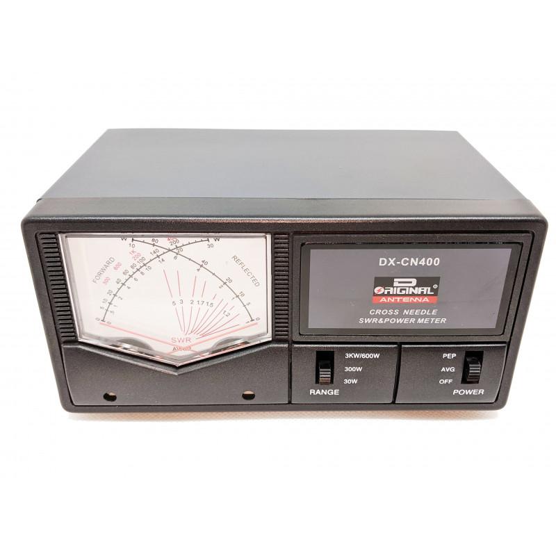 DX-CN400 D ORIGINAL MEDIDOR SWR 130 - 525 MHZ