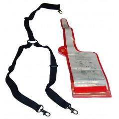 MY-599 - Funda impermeable para portátiles, con arnés sujeción 3 puntos.