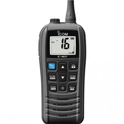 IC-M37 ICOM WALKIE MARINO 6W VHF SUMERGIBLE