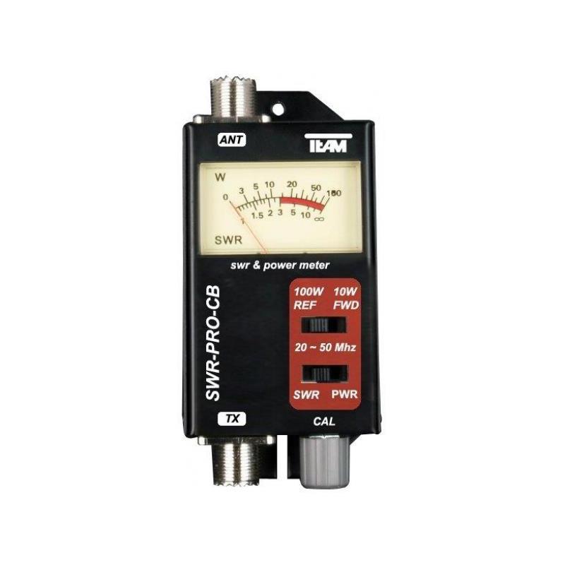 CB-6100 TEAM SWR-POWER METER 20-50 MHZ