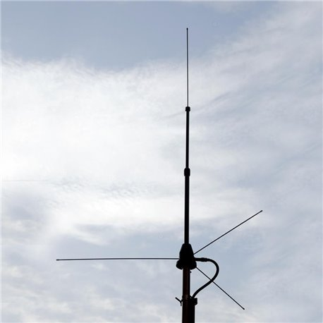 DX-GPV-ADJ - Antena Ground Plane de base para VHF
