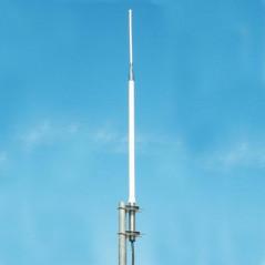KAD-155 - Antena base VHF, vertical, de fibra de vidrio para 148-158 MHz.