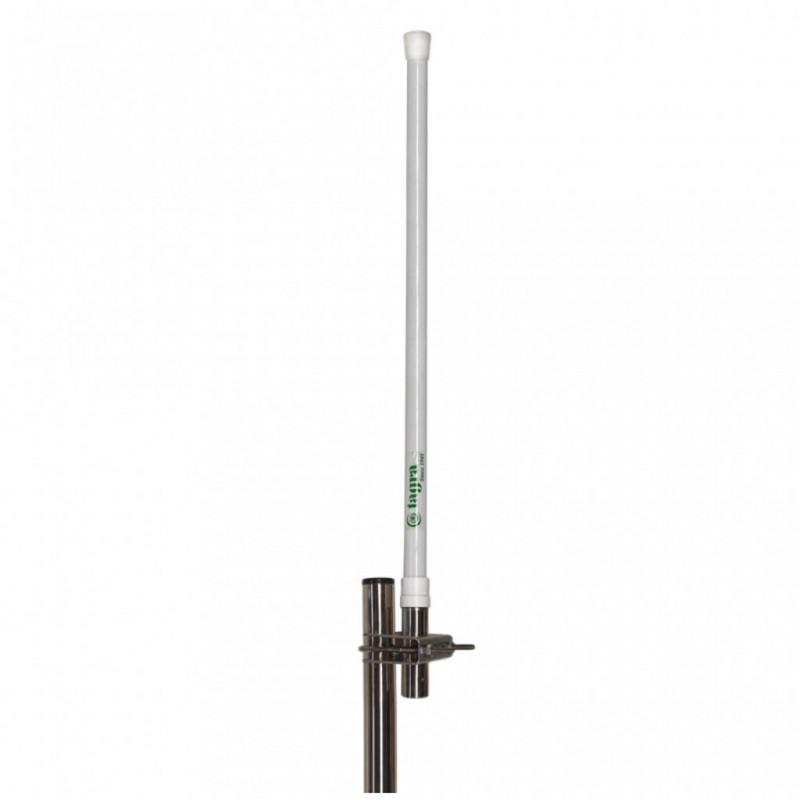 CVX-160 - Antena de base VHF, vertical, colineal, fibra de vidrio, para 152 - 167 MHz.
