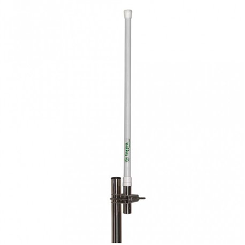 CVX-165 - Antena de base VHF, vertical, colineal, fibra de vidrio, para 160 - 176 MHz.