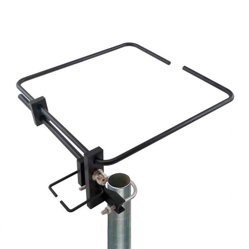DX-YG-1443-VU-B - Antena base mini yagi loop V/UHF negra