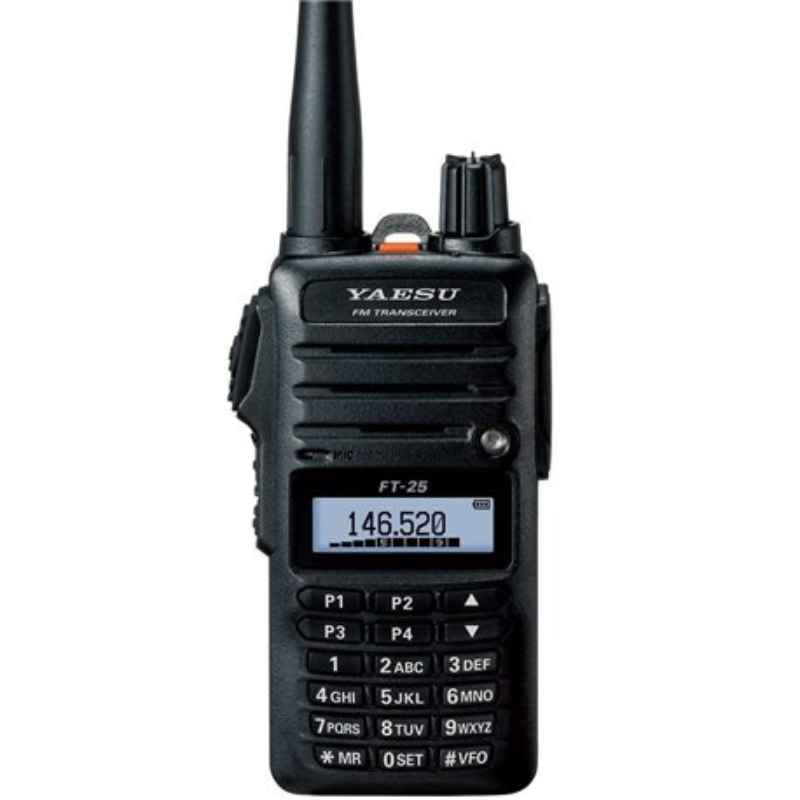 FT-25E YAESU VHF 144MHz con micro auricular de regalo