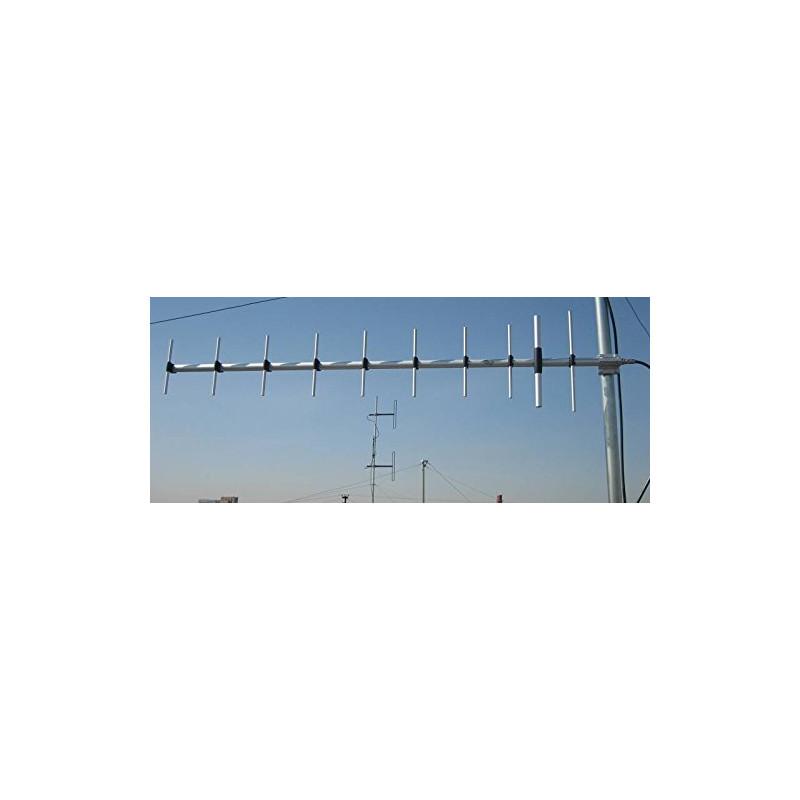 SIRIO WY380-10N 380-440MHz UHF Base Station 10 ELEMENTOS Yagi Antena