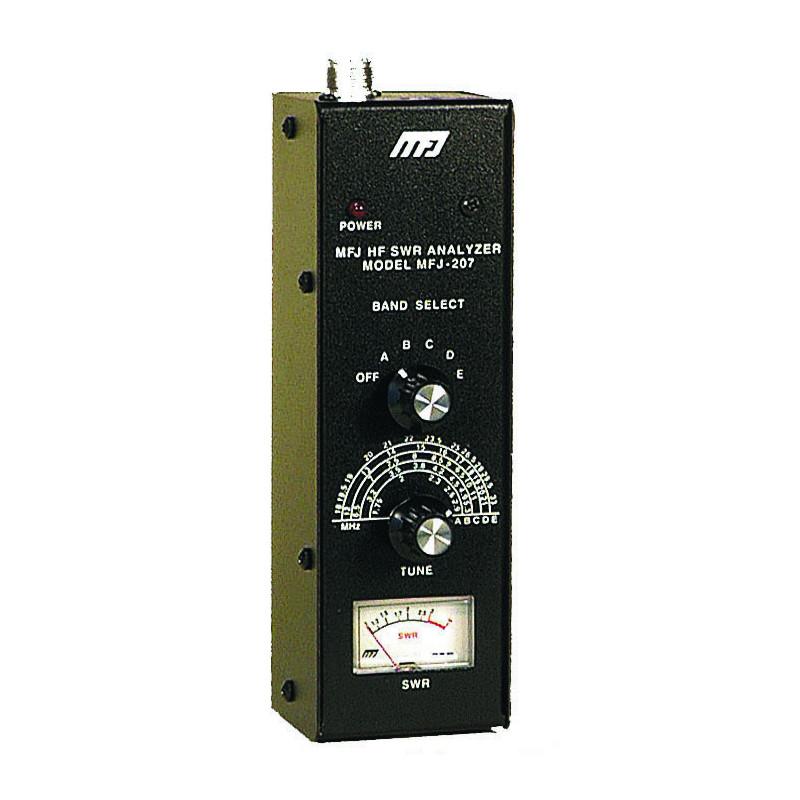 MFJ207 MFJ Analizador antena ROE de 1,75 a 30 Mhz