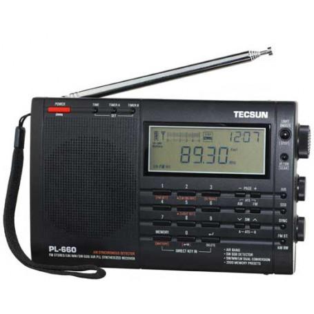 PL-660 TECSUN AM-FM-SW-AIR BAND