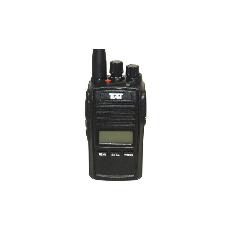 PR-8090 TECOM UHF 400-470 MHz 256 CANALES IP-67 Walkie CAZA