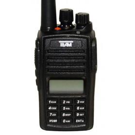 PR-8094 TeCom UHF 400-470 MHz 256 CANALES IP-67 WALKIE DE CAZA