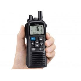 ICOM IC-M73 EURO WALKIE MARINO VHF IPX8 CON 6 W