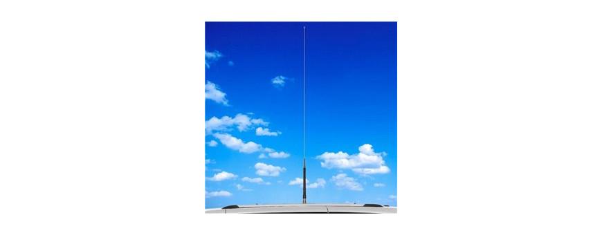 Antenas HF móvil